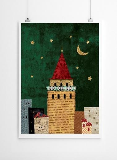 Galata Kulesi Poster-Fabl